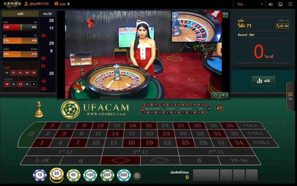 เกมรูเล็ต Venus casino เกม คาสิโนสด ออนไลน์